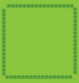 frame green 4 2011 vector image vector image