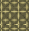 metallic background seamless vector image vector image