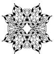 round decorative ornament element vector image vector image
