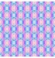 Geometric Seamless blue pink rectangle Pattern vector image