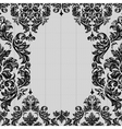 Baroque seamless vintage lace background vector image vector image