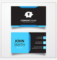 Idea pig icon business card template