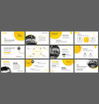 presentation and slide layout background design vector image vector image