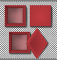 red box vector image