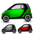 small city car vector image