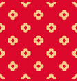 abstract ornamental floral seamless red pattern vector image vector image