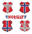 classic heraldic royal emblem vintage heraldic vector image