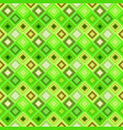 colorful repeating diagonal square tile mosaic vector image vector image