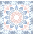 seamless Greek floral ornament Meander vector image vector image