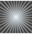 vintage abstract background explosion black-white vector image
