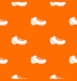 baseball cleat pattern seamless vector image vector image