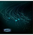 Computer technology and Big Data vector image vector image
