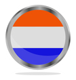 holland flag vector image vector image