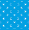 lingerie pattern seamless blue vector image