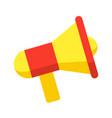 megaphone stylish icon vector image vector image