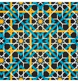 Moroccan ornament seamless background vector image