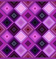 purple seamless abstract diagonal square tile vector image vector image