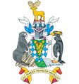 South Georgia Coat-of-Arms vector image vector image