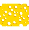 cheese seamless background vector image vector image