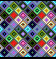 colorful abstract diagonal square pattern vector image vector image