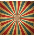 Colorful retro grange background vector image vector image