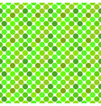 geometrical green abstract circle pattern vector image vector image