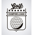 golf club design vector image