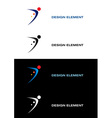 logo sport vector image vector image