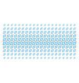 node link shape halftone grid vector image vector image