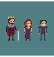 Pixel art retro 8 bit fantasy vector image vector image