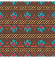 Retro ethnic oriental seamless pattern vector image