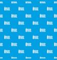welder tool pattern seamless blue vector image vector image