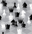 chess seamless vector image vector image