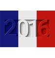 France 2016 design vector image vector image