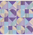 luxury elegant color geometry seamless pattern vector image vector image