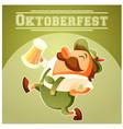 oktoberfest beer festival banner vector image