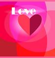 beautiful bright congratulatory background vector image
