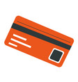 credit card with info owner banking and paying vector image