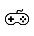 gamepad controller icon vector image vector image