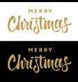 merry christmas 006 vector image