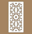 shade screen privacy fence template laser cut vector image vector image