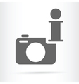 camera wen info icon vector image vector image