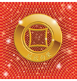 Chinas ancient gold coins vector image vector image