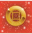 Chinas ancient gold coins vector image