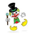 Clown Magic vector image vector image