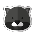 Cute panter character icon