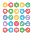 Food Icons 10 vector image vector image