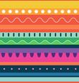 mexico seamless pattern cinco de mayo fiesta vector image vector image