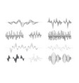 sound waves music audio visualization song vector image
