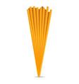 spagetti icon cartoon style vector image
